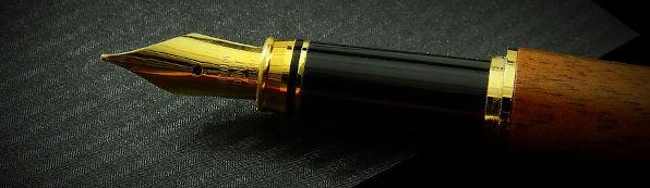 Copywriting, Lancashire. (A fountain pen.)