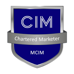 Chartered Marketer badge